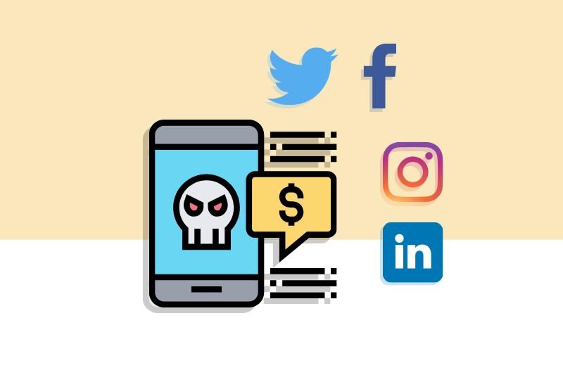 Los 5 principales delitos en redes sociales