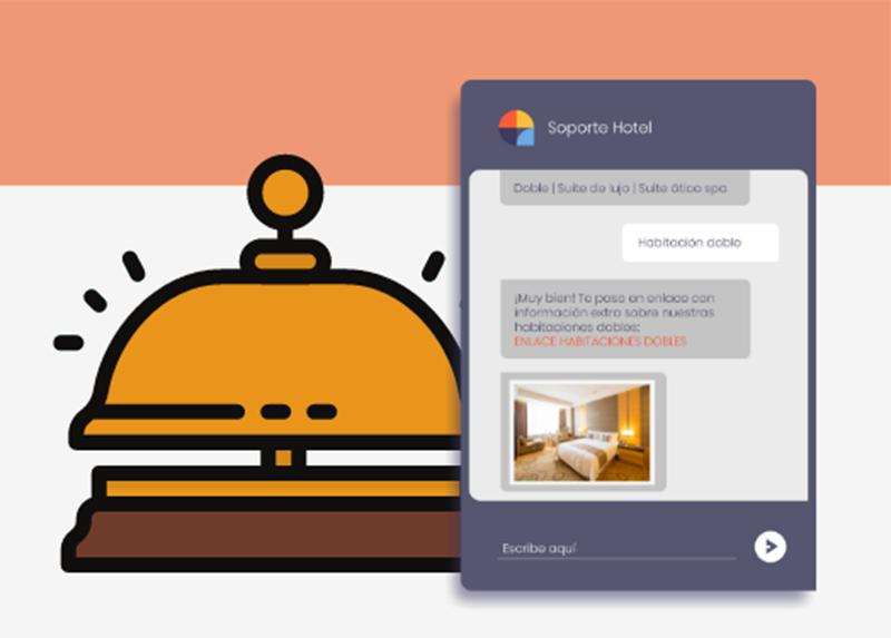 hoteleria plantilla chatbots centribal