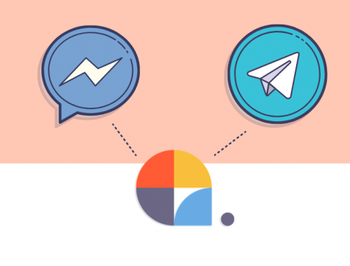 fb messenger y telegram en plataforma centribal